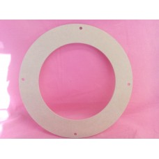 MDF  4mm Thick MDF Flower Wreath